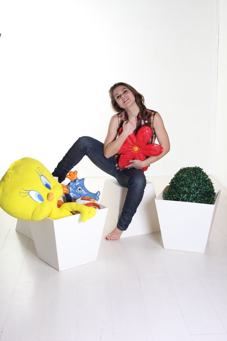 Peonia, the pot - pouf of design by Plartdesign  http://bit.ly/1EupOrq