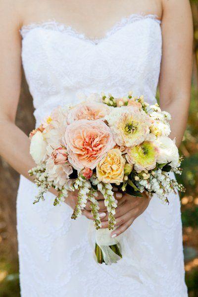 A beautiful peony bouquet!  {Jen Philips Photography}
