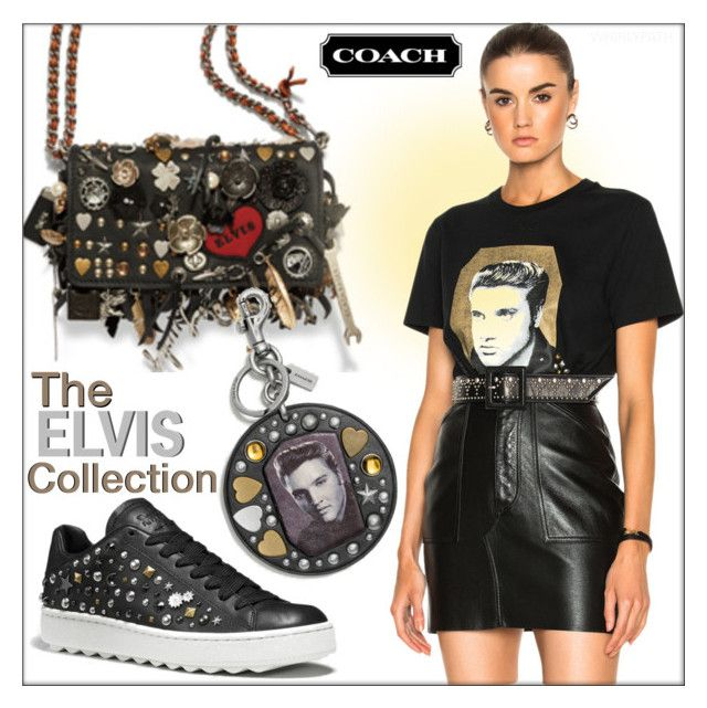 Coach Spring 2017 Elvis Collection! by whirlypath on Polyvore featuring Coach 1941 and Coach