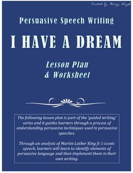 an analysis of martin luther king juniors iconic speech i have a dream Martin luther king, jr uses ethos in the beginning of his famous, i have a dream speech, to achieve the audience to feel as they are fighting with many other famous americans, such as the founding fathers and abe lincoln.