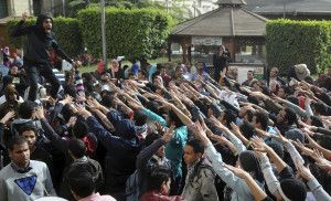 """Egyptian Court Bans """"Unapproved"""" Campus Protests"""