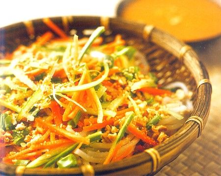 Chinese Cold Noodles Salad with Peanut SauceRecipe.This salad is a mouth-watering, so fresh and t