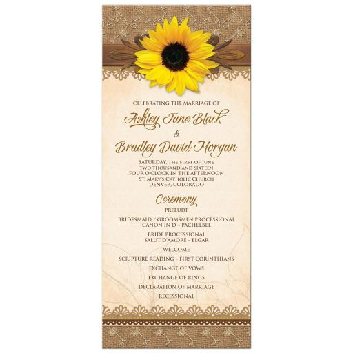 127 Best Images About Sunflower Wedding Theme On Pinterest