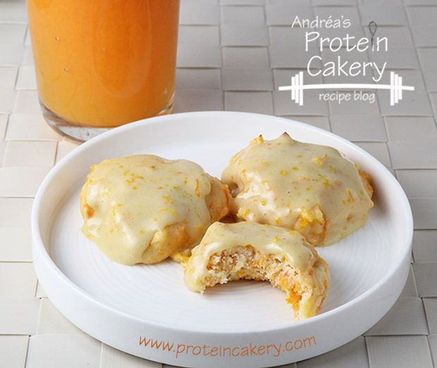 Carrot Orange Protein Cookies | Andréa's Protein Cakery