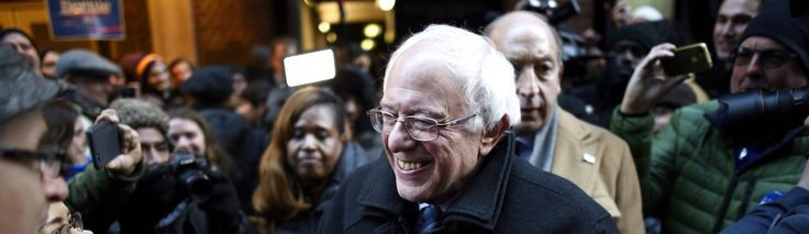 Bernie Sanders Has Snagged His First Lead in the Polls Over Hillary Clinton in Iowa