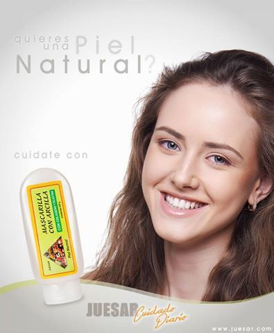 Si quieres un rostro natural y espectacular cuídate con Mascarilla de arcilla Juesar Cuidado Diario