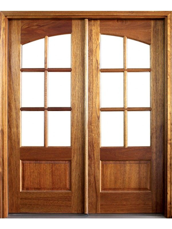 Mahogany Tiffany Tdl 6 Lite Double Door Double Entry Doors French Doors Patio Entry Doors