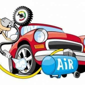 Viejo clip art dibujos animados de coches de época