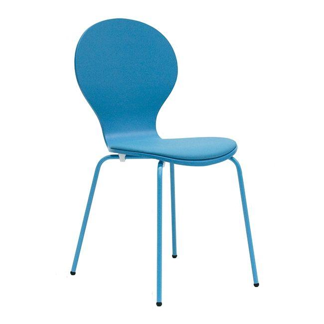 Flower szék, türkiz – ID Design Életterek - Étkező - Étkezőszékek