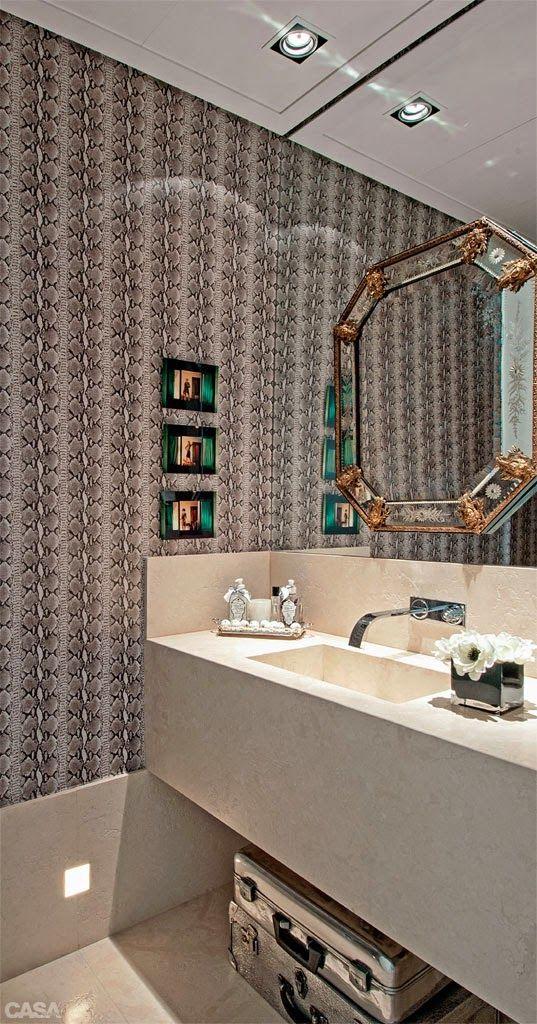 17 melhores ideias sobre Lavatorio Para Banheiro no Pinterest  Lavatorio ban -> Banheiros Ultramodernos