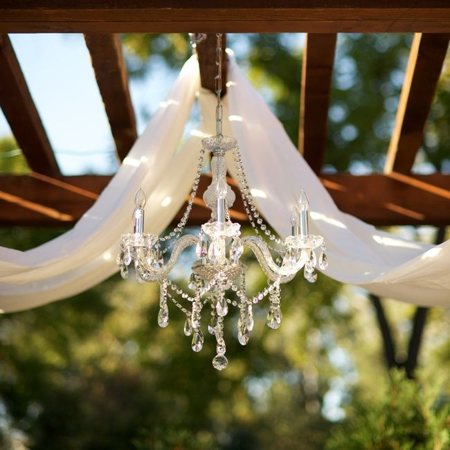 Chandelier Altar Decor Wedding Arbor Decorations