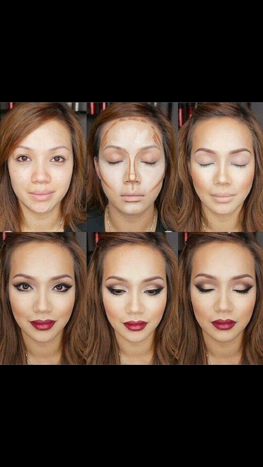 Contour make up - Asian