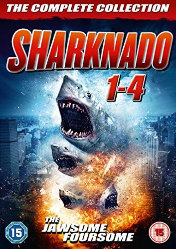 From 17.09 Sharknado 1-4 Box Set [dvd]