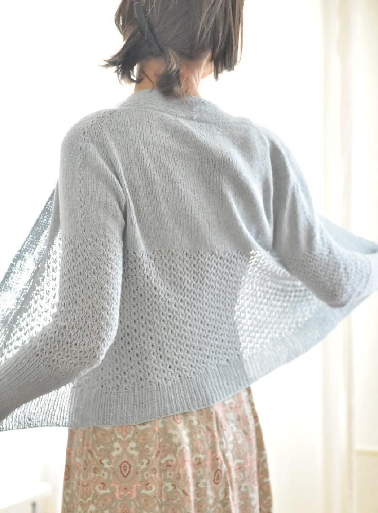 Knitting Patterns Summer Jackets : Best 25+ Knit Cardigan Pattern ideas on Pinterest Knit shrug, Crochet sweat...