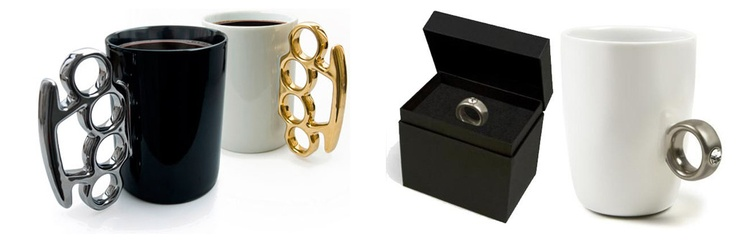 ¿Café fuerte o suave? Elige entre la Taza anillo o Puño americano PRECIO (En €) $12 #Anillo $13€ Puño americano