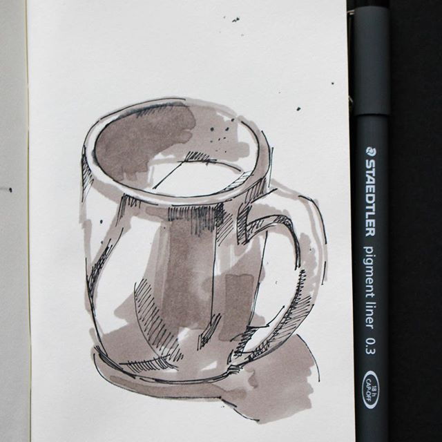 #sketch of a cup