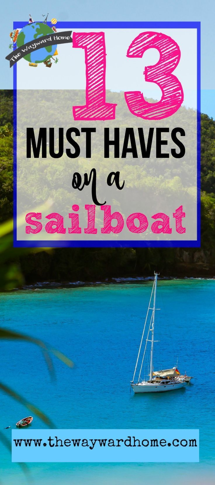 There are many must have boat accessories when you're doing the sailboat life, but these are my top 13. Mine mostly have to do with comfort and creating  a liveaboard boat tiny home.  via @thewaywardhome