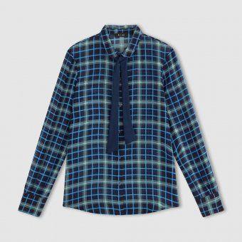 Chemise à col lavallière La Redoute