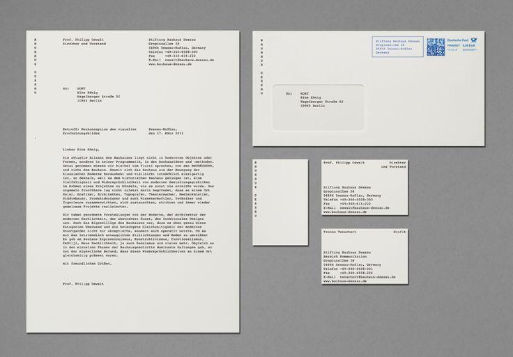 Bauhaus new identity: Dessau Letterhead, Website, Foundation Dessau, Web Site, Graphics Design, Internet Site, Bauhaus Dessau, Tags Bauhaus, Bauhaus Foundation