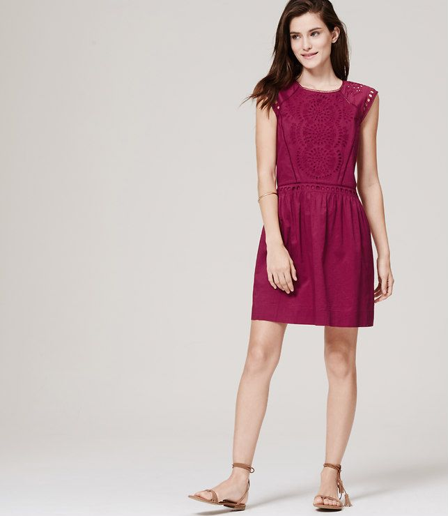 Summer Eyelet Dress   The Girl from Panama