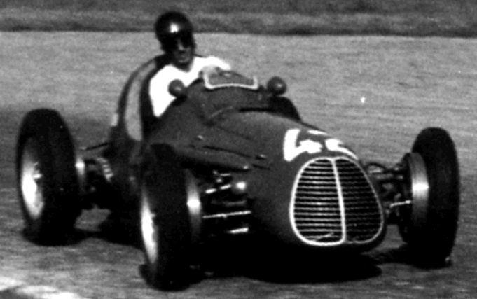 #42 Chico Landi (BR) - Maserati A6GCM (Maserati 6) piston (21) Scuderia Milano