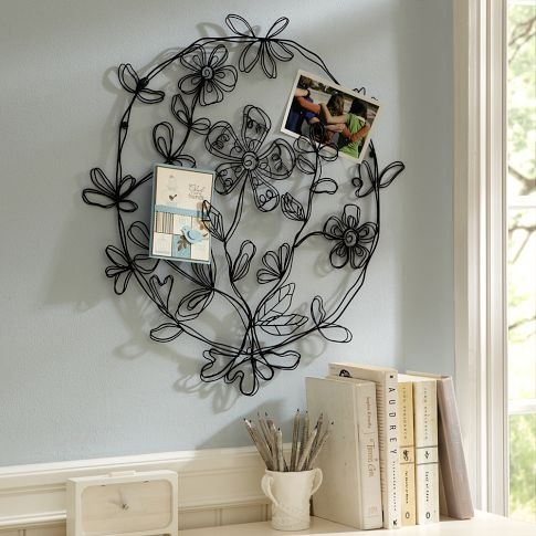 wire: Wall Decor, Boho Floral, Wire Sculpture, Photo Holders, Wire Wall, Cards Holders, Wire Art, Bedrooms Ideas, Floral Round