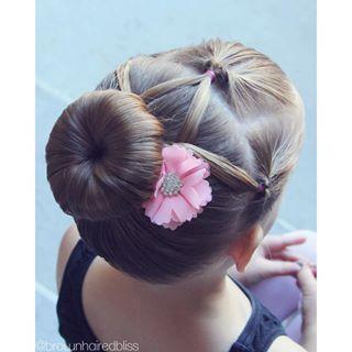 Enjoyable 1000 Ideas About Dance Hairstyles On Pinterest Ballroom Hair Hairstyle Inspiration Daily Dogsangcom