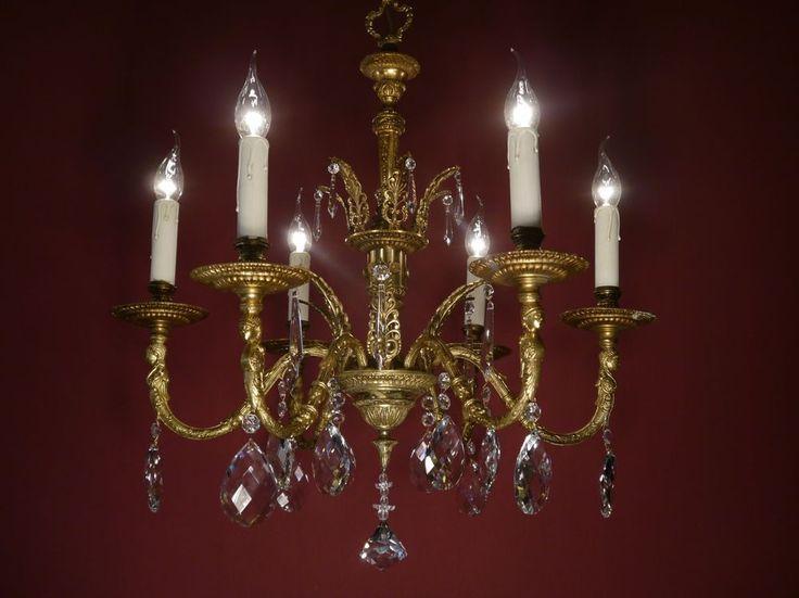 Empire Kronleuchter Antik ~ Sac à perle antik kronleuchter berlin fl großer kristall