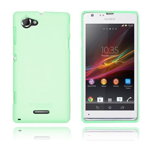 Simple (Green) Sony Xperia L Cover