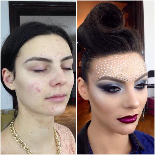 #transformation #beforeafter MUA: Andreea Anton