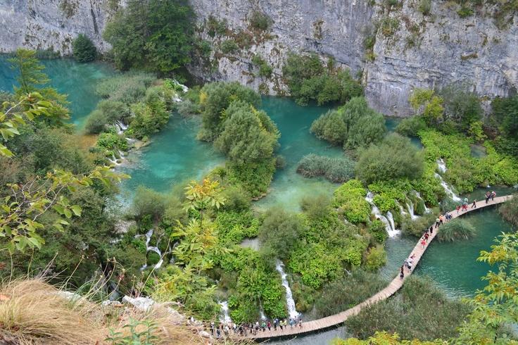 Plitvice Lakes, Croatia.