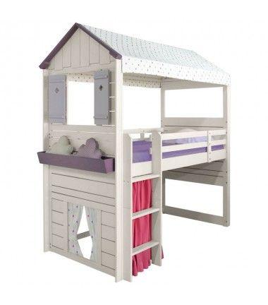 17 best images about lit cabane on pinterest childs bedroom cool forts and princess room. Black Bedroom Furniture Sets. Home Design Ideas