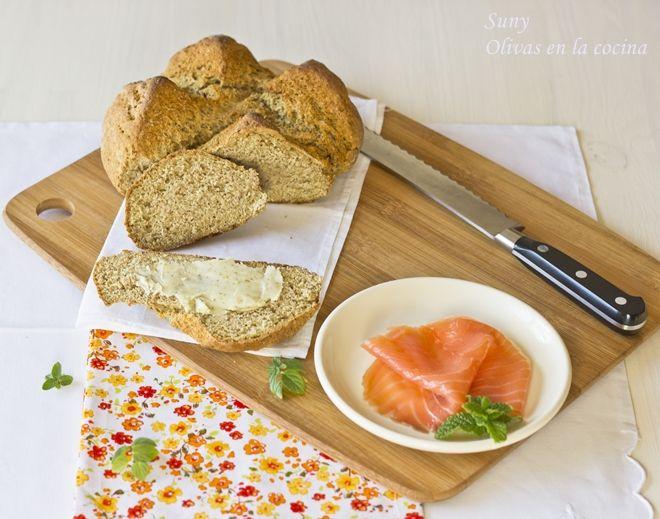 Olivas en la cocina: Pan de Soda Irlandés - Irish Soda Bread