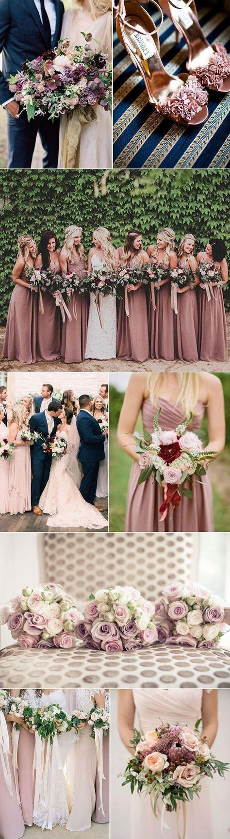 Copy This 80+ Fall Wedding Colors Inspirations