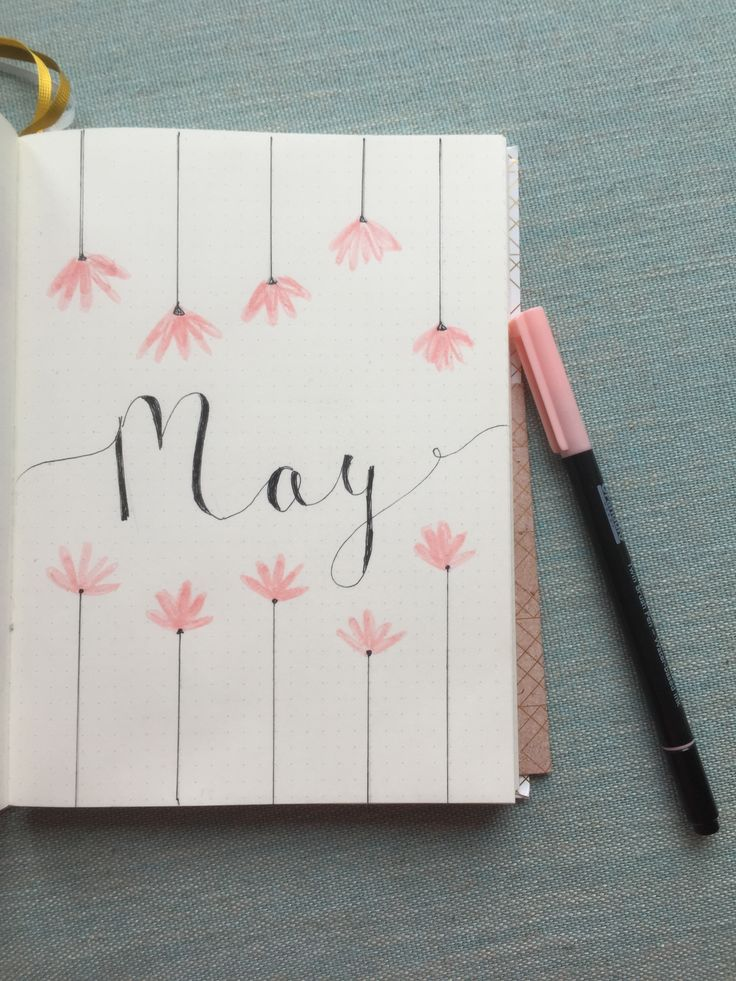 May page Bullet journal ideas
