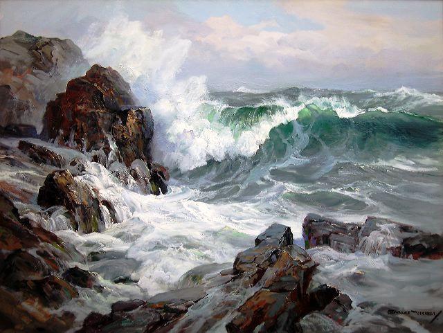 Muy respetado por otros artistas y venerado por miles de coleccionistas, Charles Vickery nos ha impresionado con sus cuadros dramático...