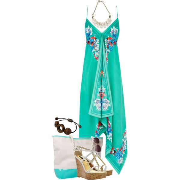"""Maxi Dress"" by jay-to-the-kay on Polyvore"