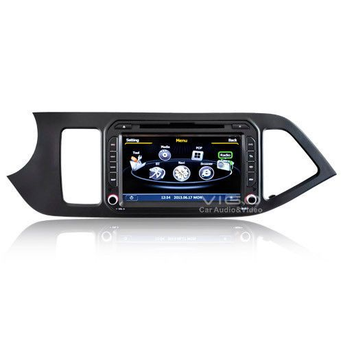 Autoradio for KIA Picanto Morning DVD Stereo Satnav GPS Navigation Navi Headunit