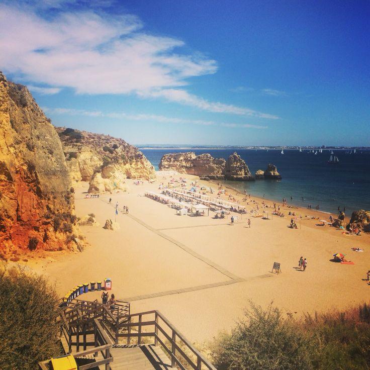 Praia Dona Ana Lagos Portugal Algarve