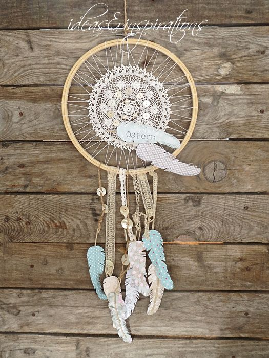 Ideas and Inspirations: DIY Träume einfangen * to catch dreams