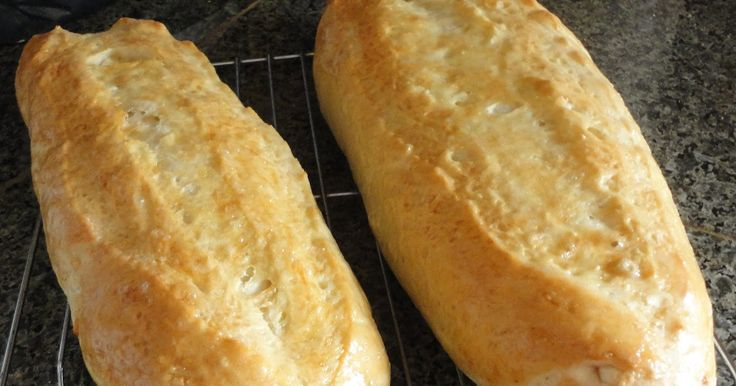Do you ever picture yourself eating a slice of Italian bread you know the type with the crunchy outside and soft and delicate inside. Well t...