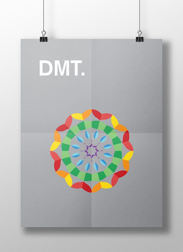 Meaghan Li || This is your brain on drugs: DMT || http://www.meaghanli.com/