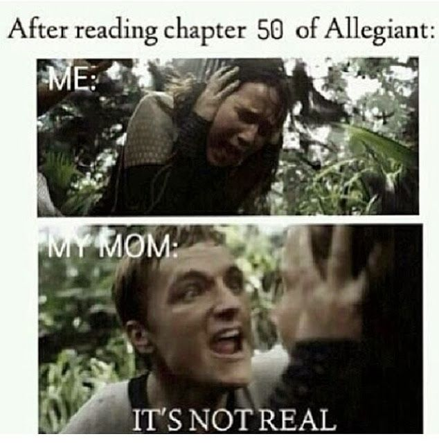 Haven't read this book yet but I've read a couple where my reaction is totally like this XD