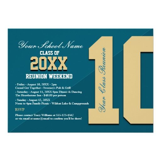 21 best Exceptional Reunion Invites images on Pinterest Cards - class reunion invitation template