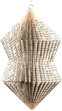 Dorisse Crystal Folded Paper Ornament on shopstyle.com