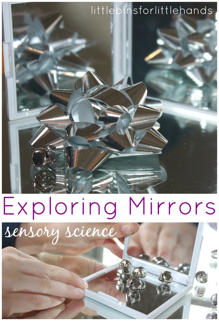 Simple Mirror Activity: Exploring Reflections with Light & Objects {Hands On Play Party}