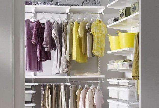8 советов для тех, кто хочет сделать гардеробную в однушке  Как устроить полноценную гардеробную, если в вашем распоряжении всего 2–3 квадратных метра? Делимся советами с теми, кто мечтает об удобном хранении одежды в однушке