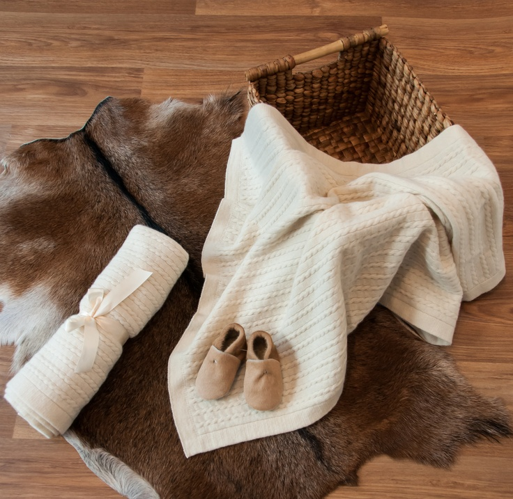 Beautiful quality calfskin baby booties and possum merino wool baby blankets are available from Gorgeous Creatures.