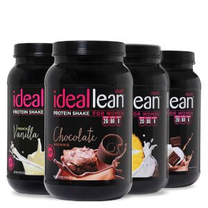 Build lean muscle and burn more fat with IdealLean Protein powder for women. Get toned, NOT bulky, with 20g of pure whey protein isolate and zero fat, sugar or carbs.
