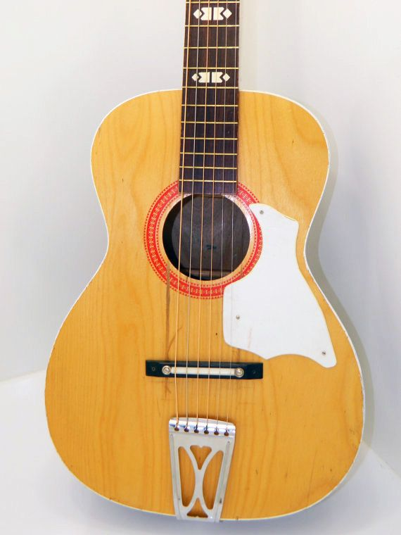 1970 39 s blonde stella harmony flat top guitar. Black Bedroom Furniture Sets. Home Design Ideas